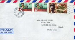 2248  Carta Aerea Paris 1986 - Aéreo