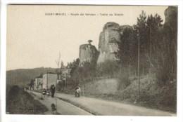 CPSM SAINT MIHIEL (Meuse) - Route De Verdun Table Du Diable - Saint Mihiel