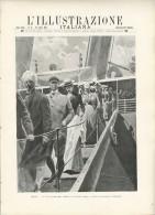 Rivista Del 1902 BRINDISI  E La Valigia Delle Indie -Splendida Incisione In Copertina + Otto Fotografie - Before 1900