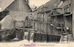 """76 AUMALE ( Seine Maritime )   Un Vannage Sur La Bresle .      """" état """" - Aumale"""