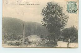 GRANGES SUR VOLOGNE  - Raperie De Bois Aux Evelines, Vallée De La Vologne. - Granges Sur Vologne