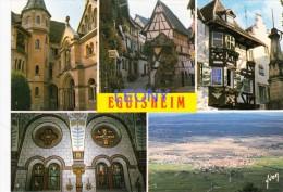 CPM   D' EGUISHEIM     (68) -  Vues Diverses - - Otros Municipios