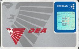 Telefoonkaart. DEA. Payback Card. 2 Scans - Andere Verzamelingen