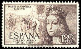 ESPAÑA SEGUNDO CENTENARIO NUEV Nº 1100 ** CASTAÑO GRISACEO ISABEL LA CATOLICA - 1931-50 Neufs