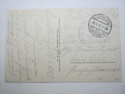 1915, Jarny   (CP)    ,  Carte Militaire   , 2 Scans - Marcofilie (Brieven)