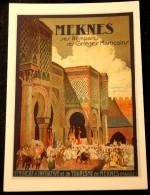 CPM- Syndicat D´initiative De Meknes - Meknes