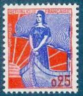 France - 1959/60  - Marianne à La Nef - Y&T N° 1234 ** Luxe Neuf 1er Choix ( Gomme D´origine ) - 1959-60 Marianne (am Bug)
