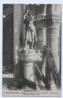 51c36 Cpa SERMAIZE Les BAINS - Guerre 1914 /1915L'Eglise - La Pucelle Lorraine Impassible Sur Les Ruines - Sermaize-les-Bains