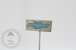 Vintage Chevrolet Car Logo  Advertising Needle Pin/ Badge - Pin