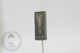 Vintage Pontiac Car Logo  Advertising Needle Pin/ Badge - Otros