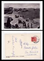 Cartolina/postcard MONOPOLI (Bari) Cala Pantano. Stabilimento Balneare Vadala 1955 - Bari