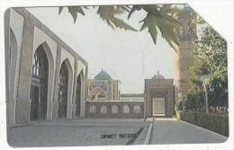 UZBEKISTAN(Urmet) - Mosque, Toshkent Taksofoni First Issue 25 Units, Used - Uzbekistan