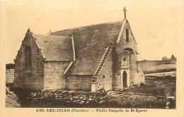 -finistere - Ref RB A48- Kerlouan - Vieille Chapelle De Saint Egarec - St Egarec - Carte Bon Etat  - - Kerlouan