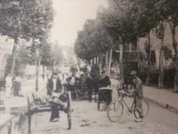 1915 Avenue De La Gare Et Le Saint Michel CPA->TOUL Commune Française De Meurthe-et-Moselle Région Lorraine.vélo Charett - Toul