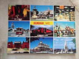 Australia  BENDIGO  - Tramway -Tram -Central Deborah -Gold Mine  Wax Museum - Sandhurst Town   - Victoria      D120669 - Bendigo
