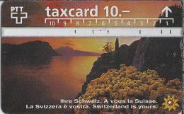 CH.- Telecom. PTT. Taxcard 10.-. Ihre Schweiz. A Vous La Suisse. La Svizzera è Vostra. Zwitserland. 604E - Zwitserland