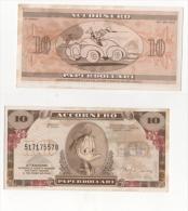 Sor139 Banconota Da 10 Papardollari, Gadget Accornero, 1988, Paperino, Disney, Frollini Nonna Papera - Sorpresine