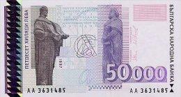 Bulgaria 50000 Leva 1997 Pick 113 UNC - Bulgaria