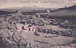 CPA * * CARTHAGE * * Ruines Du Théâtre Romain - Tunisie
