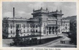 [DC5883] CARTOLINA - SALSOMAGGIORE - STABILIMENTO REGIE TERME - L. BARZIERI - Viaggiata - Old Postcard - Parma