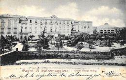 [DC5885] CARTOLINA - BAGNI DI SALSOMAGGIORE - GRANDE ALBERGO MILANO - Viaggiata 1901 - Old Postcard - Parma