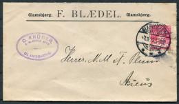 1913 Denmark Glamsbjerg Blaedel Morso Regulerings Komfur Advertising Kruger Illustrated Cover - Assens - Covers & Documents