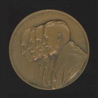 "M�daille - Cardinal Mercier, Adolphe Max, L�on Th�odor & Henri Pirenne ""L'Allemagne r�tablit l'esclavage"" 15 mai 1916"