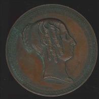 M�daille - Louise-Marie Reine des Belges n�e � Palerme 1812 - morte � Ostende 1850