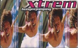 Telefonkarte.- Duitsland. Xtrem. Extreme Sportarten: Bungeejumping. 2 Scans - P & PD-Reeksen : Loket Van D. Telekom
