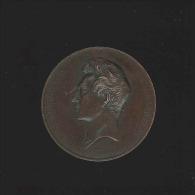 M�daille - B.C. Dumortier La Belgique reconnaissante 1838-1839 graveur Leclercq