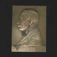 M�daille - Charles Graux Administrateur Inspecteur Universit� Libre de Bruxelles 1890-1907
