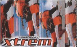 Telefonkarte.- Duitsland. Xtrem. Extreme Sportarten: Iceclimbing. 2 Scans - P & PD-Reeksen : Loket Van D. Telekom