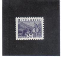 GUT766  AUSTRIA ÖSTERREICH 1932 Michl 536 LANDSCHAFTEN (kleines Format) (*) UNGEBRAUCHR Mit FALZ - Ungebraucht