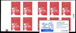 Carnet Luquet YT 3419 C16  - AVEC CARRE NOIR  - LA BOUTIQUE WEB DU TIMBRE - Carnets
