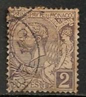Timbres - Monaco - 1891 - 2 C. - - Monaco