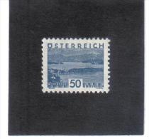 GUT773  AUSTRIA ÖSTERREICH 1932 Michl 541 LANDSCHAFTEN (kleines Format) (*) UNGEBRAUCHR Mit FALZ - 1918-1945 1. Republik