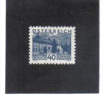 GUT768  AUSTRIA ÖSTERREICH 1932 Michl 538 LANDSCHAFTEN (kleines Format) (*) UNGEBRAUCHR Mit FALZ - 1918-1945 1. Republik