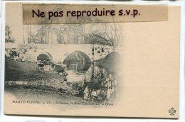 - 151 - St-Junien - ( Hte-Vienne ), Lavandi�res, le Pont Elisabeth, la Glane, pr�curseur, non �crite, TBE, scans.
