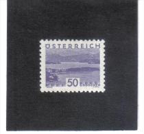 GUT771  AUSTRIA ÖSTERREICH 1932 Michl 540 LANDSCHAFTEN (kleines Format) (*) UNGEBRAUCHR Mit FALZ - 1918-1945 1. Republik