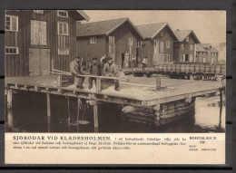 Sweden 1081 Postcard Pre-1940 Bohuslan Workers Buildings - Suède