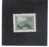 GUT774  AUSTRIA ÖSTERREICH 1932 Michl 542 LANDSCHAFTEN (kleines Format) (*) UNGEBRAUCHR Mit FALZ - Ungebraucht