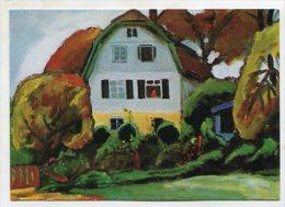 PAINTING - AK 209931 Gabriele Münter - 1931 - Das Russen-Haus - Paintings