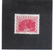 GUT764  AUSTRIA ÖSTERREICH 1932 Michl 534 LANDSCHAFTEN (kleines Format) (*) UNGEBRAUCHR Mit FALZ - Ungebraucht