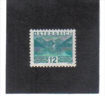 GUT761  AUSTRIA ÖSTERREICH 1931 Michl 532 LANDSCHAFTEN (kleines Format) (*) UNGEBRAUCHR Mit FALZ - Ungebraucht