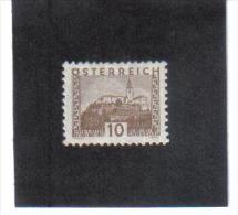 GUT760  AUSTRIA ÖSTERREICH 1931 Michl 530 LANDSCHAFTEN (kleines Format) (*) UNGEBRAUCHR Mit FALZ - 1918-1945 1. Republik