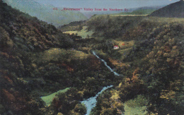 Cosra Rica Revetazon Valley From The Northern Railway