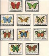 Burundi - 918/927 - Papillons - 1984 - MNH - 1980-89: Neufs
