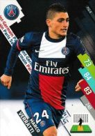 Marco Verratti    - Paris Saint Germain  - Psg-8 -carte Panini Football Adrenalyn Xl - Ligue 1 - Trading Cards