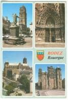 France, RODEZ, Rouergue, 1995 Used Postcard [14080] - Rodez