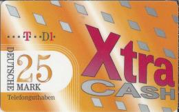 Telefonkarte.- Duitsland. XtraCash. 25 DM. Telefonguthaben - Deutschland. 2 Scans - GSM, Voorafbetaald & Herlaadbare Kaarten